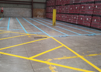 Factory Safety Lines, factory safety line marking auckland