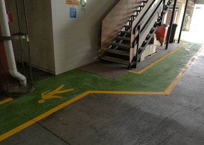 Anti Skid Line Marking